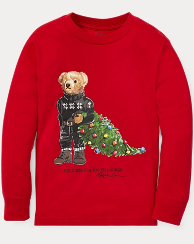 Holiday Bear Cotton T-Shirt
