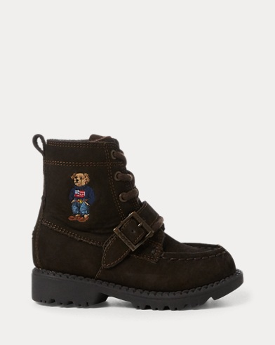Ranger Polo Bear Suede Boot