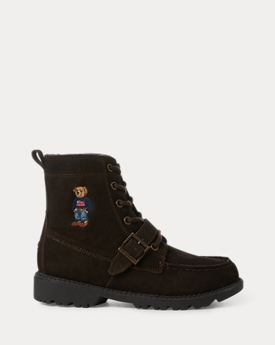 Polo Bear Suede Ranger Boot