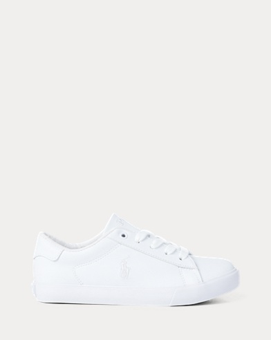 Easten Faux-Leather Trainer