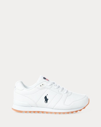 Oryion Faux-Leather Trainer