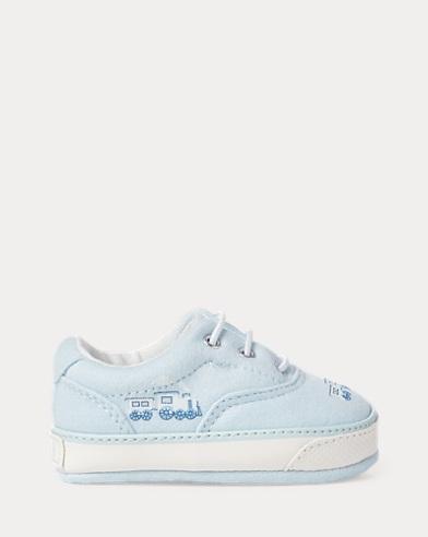 Sneaker Vaughn in pelle