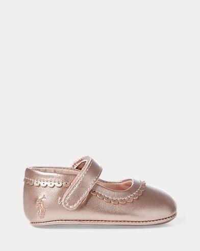 Zapato merceditasde piel sintética