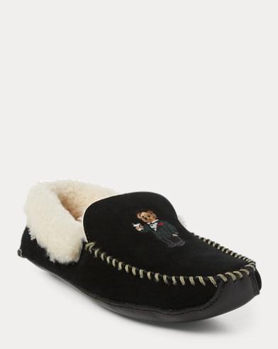 Yarmond Bear Moccasin Slipper