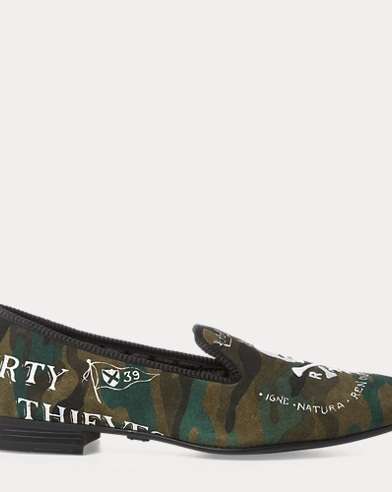 Willard Camo Suede Slipper
