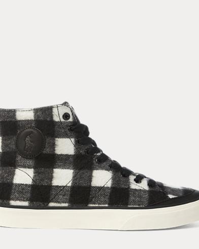 Solomon Flannel Sneaker
