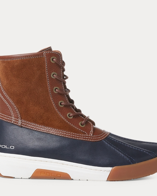 e365791396f Declan Leather Duck Boot