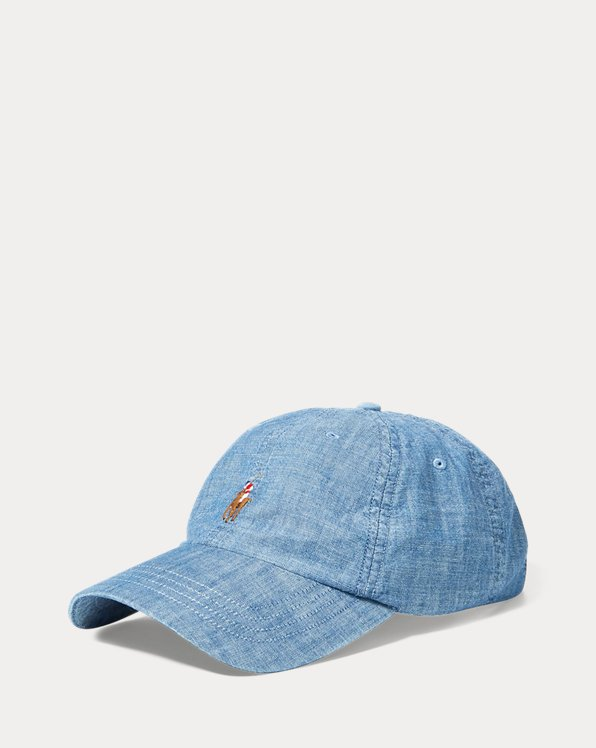 Chambray Sports Cap