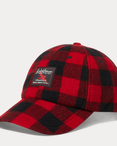 Buffalo Check Flannel Cap