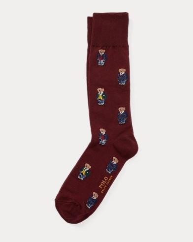 Preppy Bear Trouser Socks