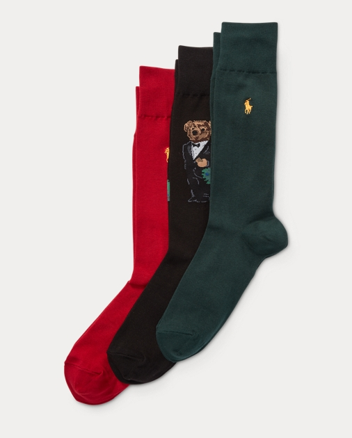 Polo Ralph Lauren Bear Sock Gift Box
