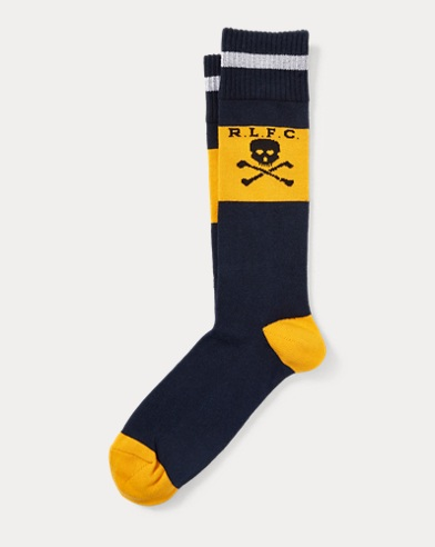 Rugby Cotton-Blend Socks
