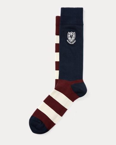 Striped Crest Trouser Socks