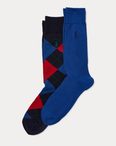 Argyle Trouser Sock 2-Pack