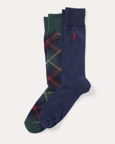 Tartan Trouser Sock 2-Pack