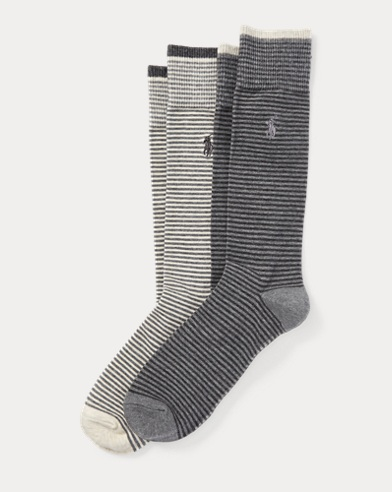 Stripe Trouser Sock 2-Pack