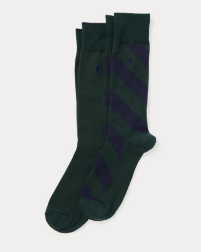 Repp-Stripe Sock 2-Pack