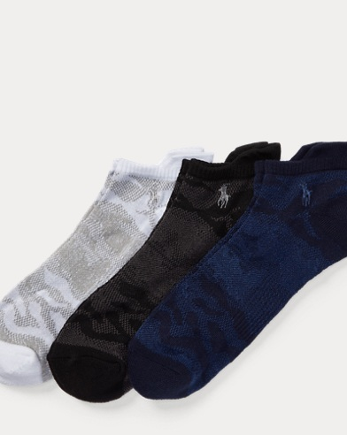 Camo Mesh Athletic Sock 3-Pack