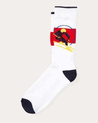 Downhill Skier Socks