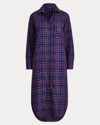 Brushed Twill Nightshirt