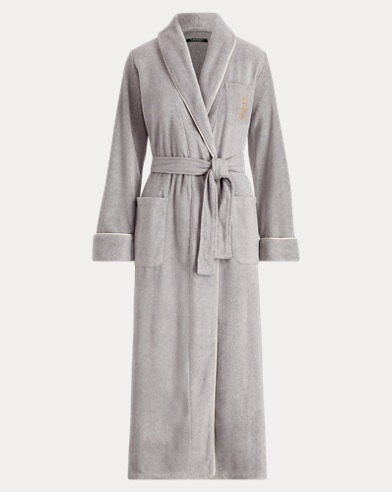 Long Fleece Robe