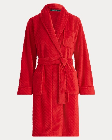 Herringbone Terry Robe