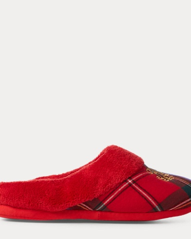 Plaid Fleece Slipper