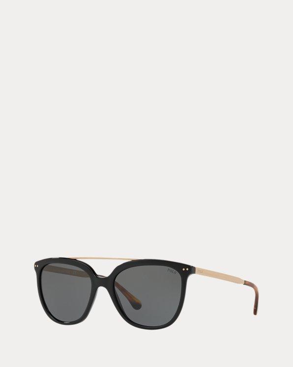 Metal-Frame Square Sunglasses