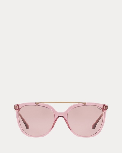 Metal-Frame Square Sunglasses