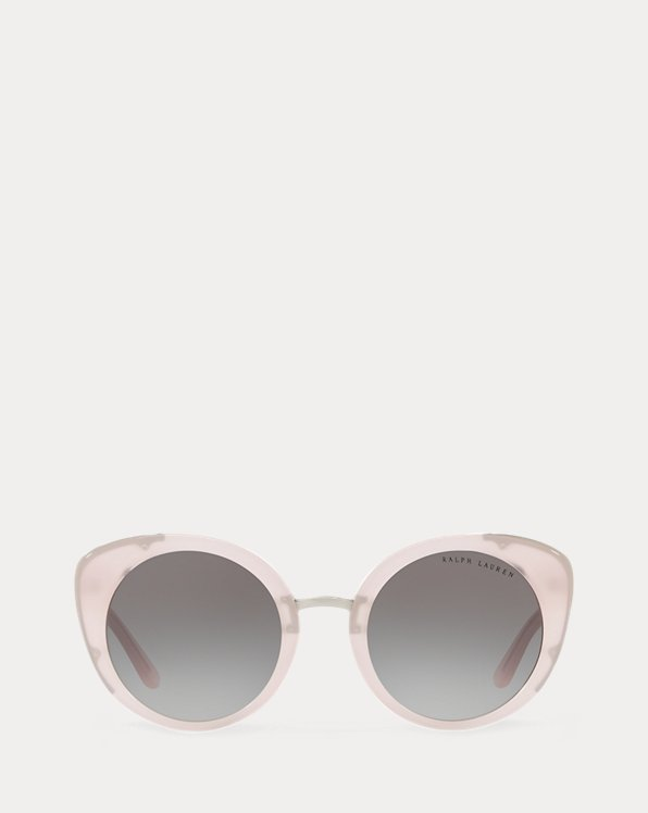 Clear Rounded Sunglasses