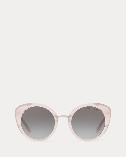 taglia 40 c85a6 4a42d Occhiali da sole chiari rotondi