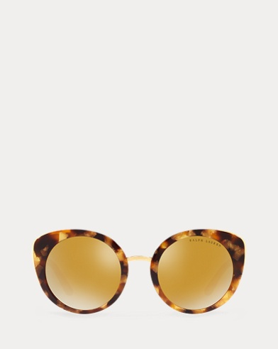 Mirrored Rounded Sunglasses