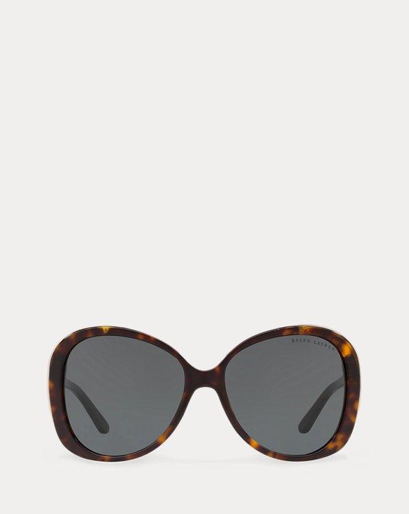 Sonnenbrille in Schmetterlingsform