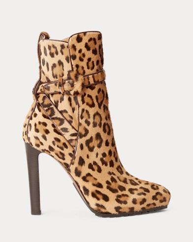 Recelle Leopard Calf Boot