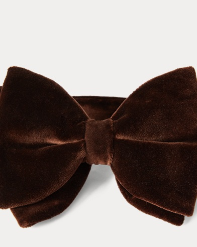 Pre-Tied Velvet Bow Tie