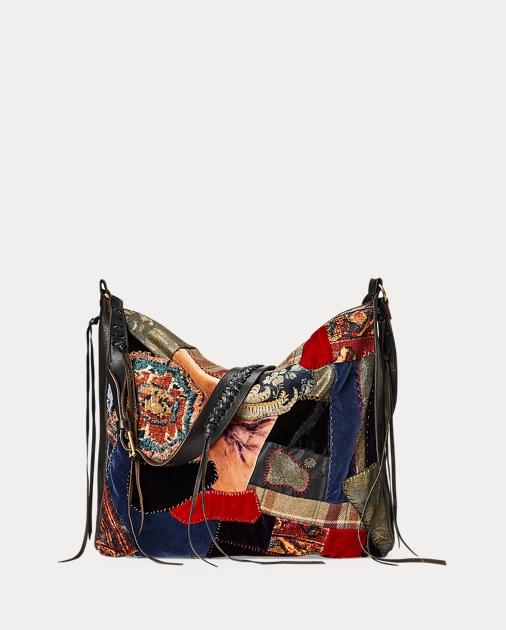 Large Patchwork Shoulder Bag