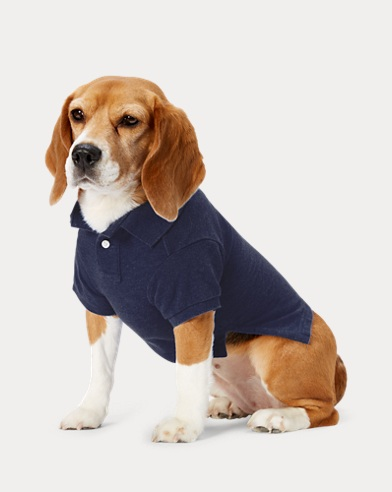 Cotton Piqué Dog Polo Shirt