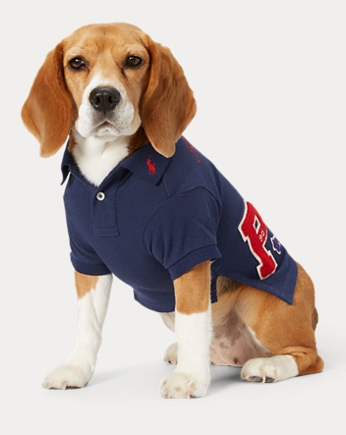 Piqué Patch Dog Polo Shirt