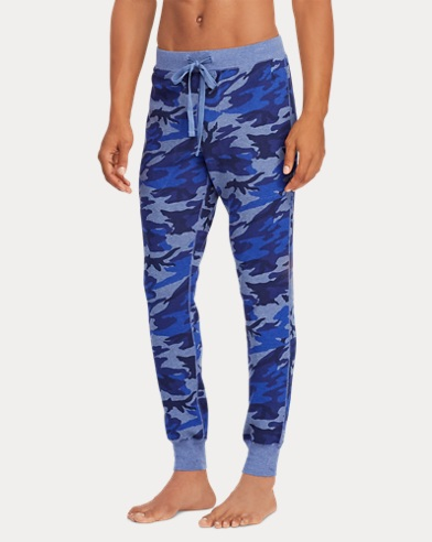 Camo Cotton Pajama Pant