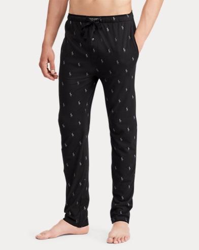 Pony-Print Pajama Pant