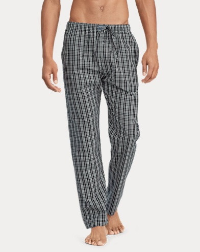 Print Cotton Pajama Pant