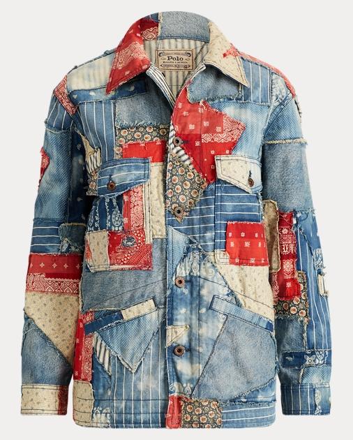 dc4c7cf4c4 Polo Ralph Lauren Patchwork Denim Jacket 1