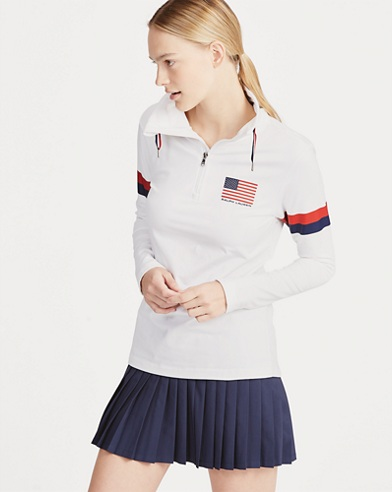 US Open Mockneck Half-Zip
