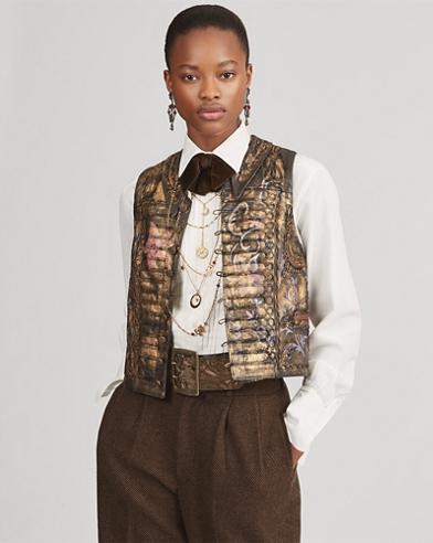 Monika Leather Vest