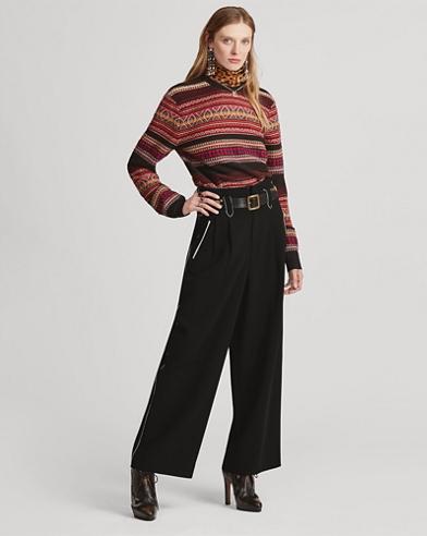 Agethe Wool-Blend Pant