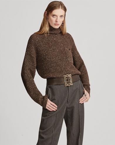 Cashmere Funnelneck Sweater