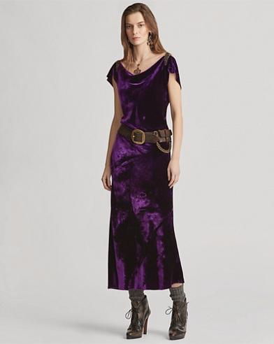 Beaded Rachelle Evening Dress