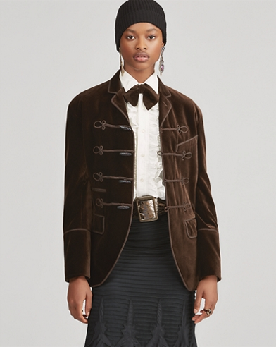 Celessee Velvet Jacket