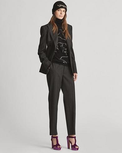 Grayden Straight Wool Pant