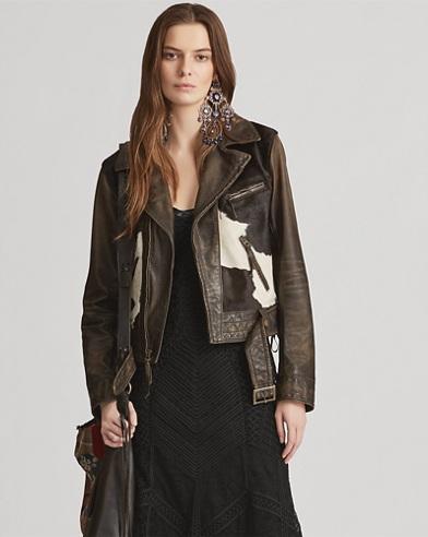 Leather Hadley Jacket